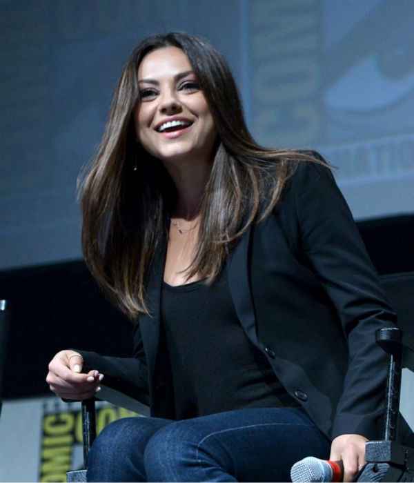 Mila Kunis of 'Oz: the Great and Powerful,' appears in a photo at San Diego Comic-Con on Thursday, July 12, 2012.