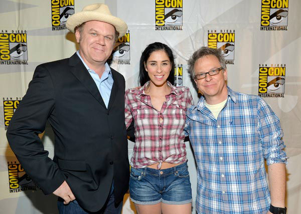 John C. Reilly, Sarah Silverman and director Rich Moore of &#39;Wreck-It Ralph&#39; appear in a photo at San Diego Comic-Con on Thursday, July 12, 2012. <span class=meta>(WireImage Photo&#47;Alberto E. Rodriguez)</span>