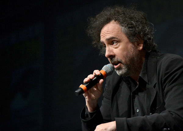 Tim Burton, who directed &#39;Frankenweenie,&#39; appears in a photo at San Diego Comic-Con on Thursday, July 12, 2012. <span class=meta>(WireImage Photo&#47;Alberto E. Rodriguez)</span>