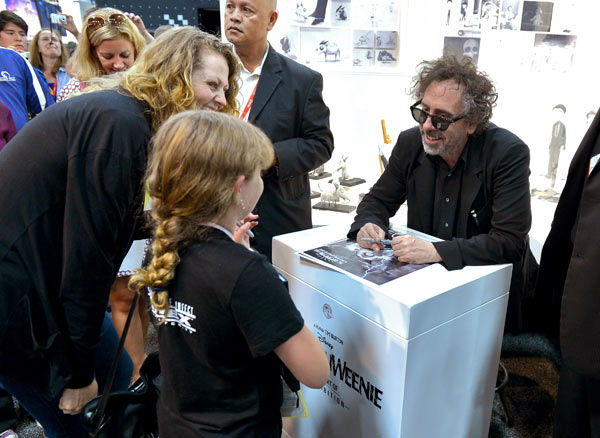 "<div class=""meta image-caption""><div class=""origin-logo origin-image ""><span></span></div><span class=""caption-text"">Tim Burton, who directed 'Frankenweenie,' appears in a photo at San Diego Comic-Con on Thursday, July 12, 2012. (WireImage Photo/Alberto E. Rodriguez)</span></div>"