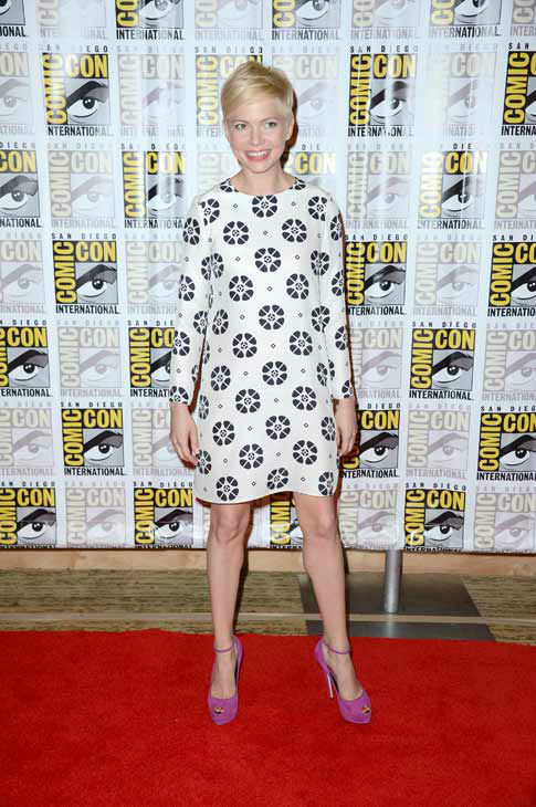 "<div class=""meta ""><span class=""caption-text "">Michelle Williams of 'Oz: the Great and Powerful,' appears in a photo at San Diego Comic-Con on Thursday, July 12, 2012. (WireImage Photo/Frazer Harrison)</span></div>"