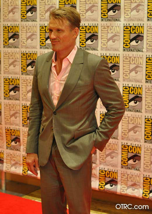 "<div class=""meta ""><span class=""caption-text "">Dolph Lundgren of 'The Expendables 2,' appears in a photo at San Diego Comic-Con on Thursday, July 12, 2012. (OTRC Photo)</span></div>"