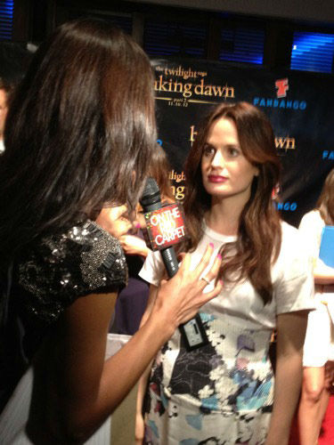 'Twilight' actress Elizabeth Reaser appears in a photo at San Diego Comic-Con on Thursday, July 12, 2012.