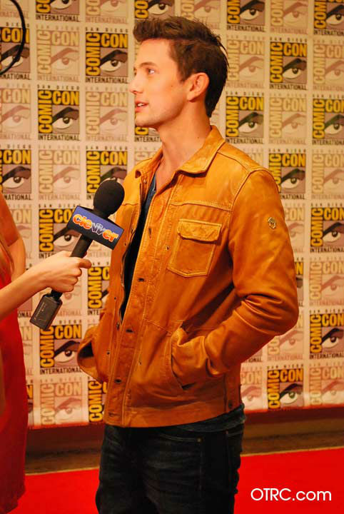 'Twilight' actor Jackson Rathbone appears in a photo at San Diego Comic-Con on Thursday, July 12, 2012.