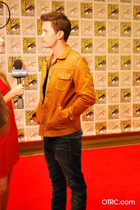 &#39;Twilight&#39; actor Jackson Rathbone appears in a photo at San Diego Comic-Con on Thursday, July 12, 2012. <span class=meta>(OTRC Photo)</span>