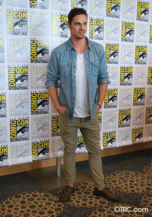 Jay Ryan from the new CW series &#39;Beauty and the Beast&#39; appears in a photo at San Diego Comic-Con on Thursday, July 12, 2012. <span class=meta>(OTRC Photo)</span>
