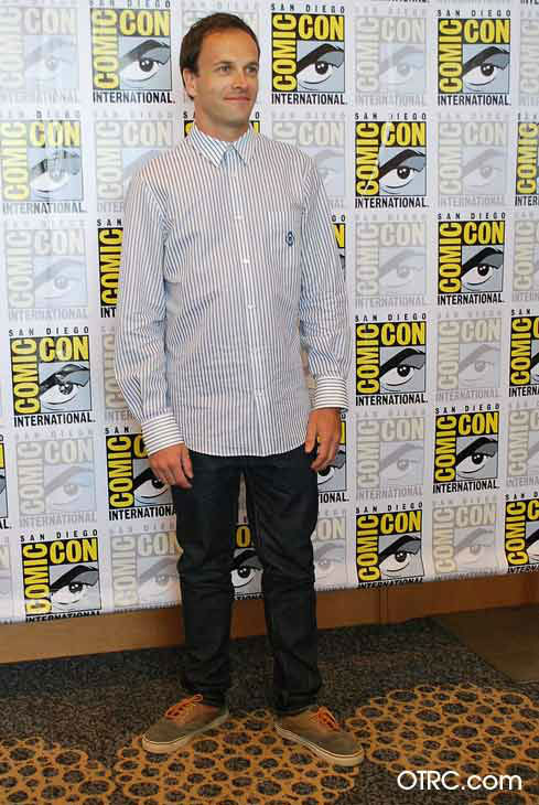 Johnny Lee Miller, who stars in the new CBS series &#39;Elementary,&#39; appears in a photo at San Diego Comic-Con on Thursday, July 12, 2012. <span class=meta>(OTRC Photo)</span>
