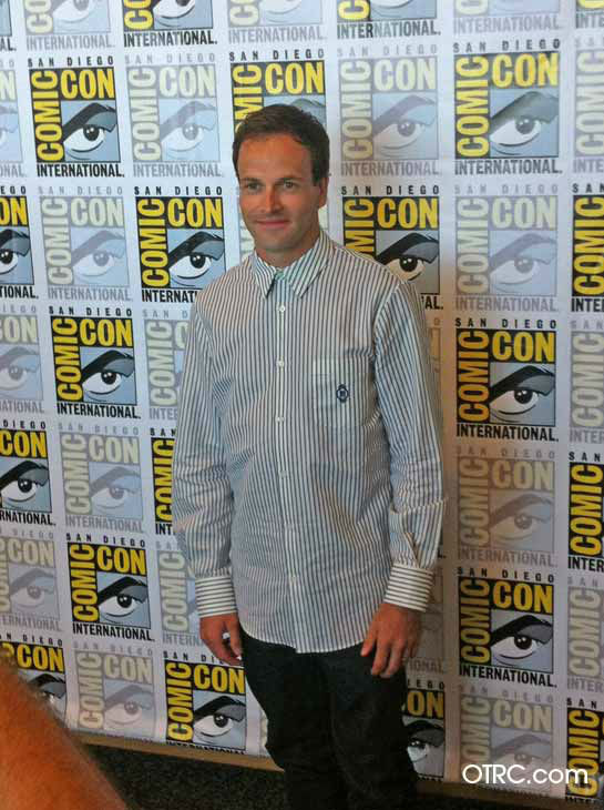 "<div class=""meta ""><span class=""caption-text "">Johnny Lee Miller, who stars in the new CBS series 'Elementary,' appears in a photo at San Diego Comic-Con on Thursday, July 12, 2012. (OTRC Photo)</span></div>"
