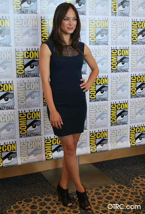 "<div class=""meta image-caption""><div class=""origin-logo origin-image ""><span></span></div><span class=""caption-text"">Kristin Kreuk from the new CW series 'Beauty and the Beast' appears in a photo at San Diego Comic-Con on Thursday, July 12, 2012. (OTRC Photo)</span></div>"