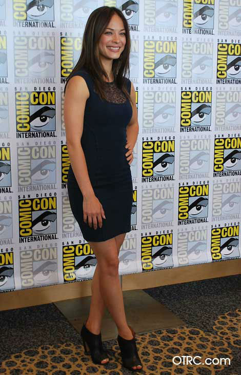 Kristin Kreuk from the new CW series &#39;Beauty and the Beast&#39; appears in a photo at San Diego Comic-Con on Thursday, July 12, 2012. <span class=meta>(OTRC Photo)</span>