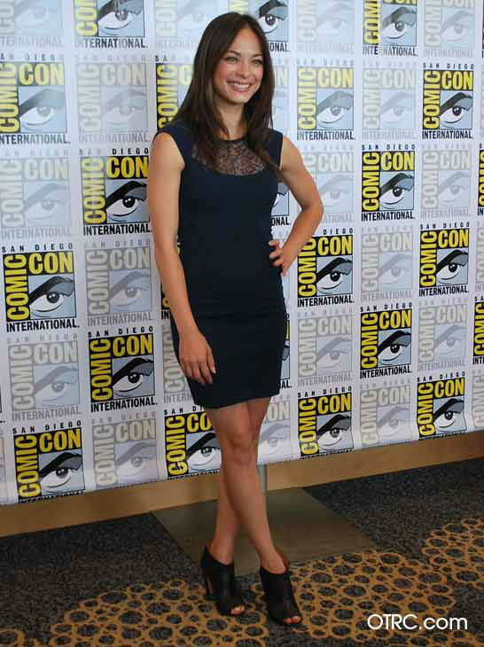 Kristin Kreuk from the new CW series 'Beauty and the Beast' appears in a photo at San Diego Comic-Con on Thursday, July 12, 2012.