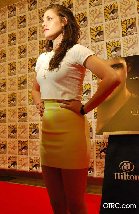 'Twilight' actress Kristen Stewart appears in a photo at San Diego Comic-Con on Thursday, July 12, 2012.