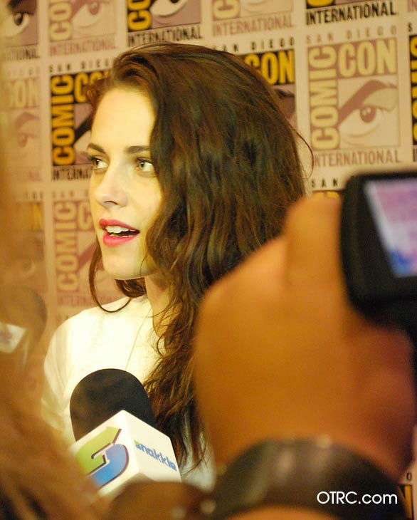 'Twilight' actress Kristen Stewart appears in a...
