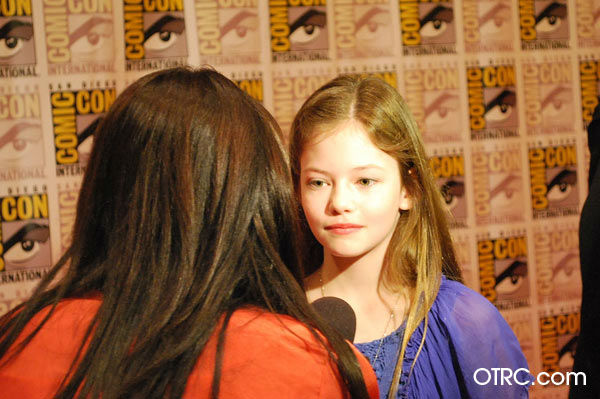 'Twilight Saga: Breaking Dawn - Part 2' actress Mackenzie Foy, who portrays Bella and Edward's daughter Renesmee, appears in a photo at San Diego Comic-Con on Thursday, July 12, 2012.