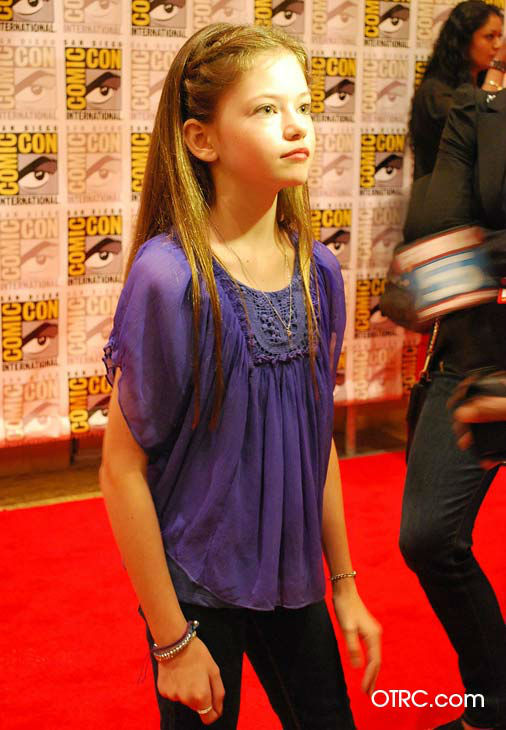 &#39;Twilight Saga: Breaking Dawn - Part 2&#39; actress Mackenzie Foy, who portrays Bella and Edward&#39;s daughter Renesmee, appears in a photo at San Diego Comic-Con on Thursday, July 12, 2012. <span class=meta>(OTRC Photo)</span>