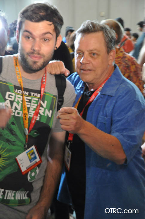 Mark Hamill, who portrayed Luke Skywalker in &#39;Star Wars,&#39; appears in a photo at San Diego Comic-Con on Thursday, July 12, 2012. <span class=meta>(OTRC Photo)</span>