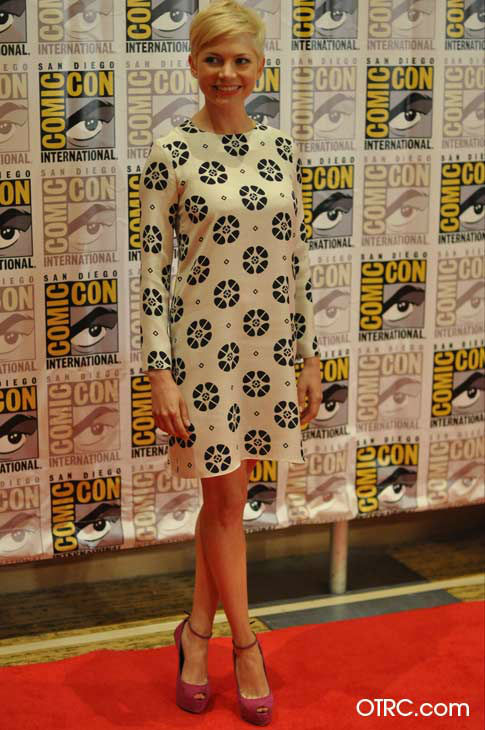"<div class=""meta image-caption""><div class=""origin-logo origin-image ""><span></span></div><span class=""caption-text"">Michelle Williams of 'Oz: the Great and Powerful,' appears in a photo at San Diego Comic-Con on Thursday, July 12, 2012. (OTRC Photo)</span></div>"