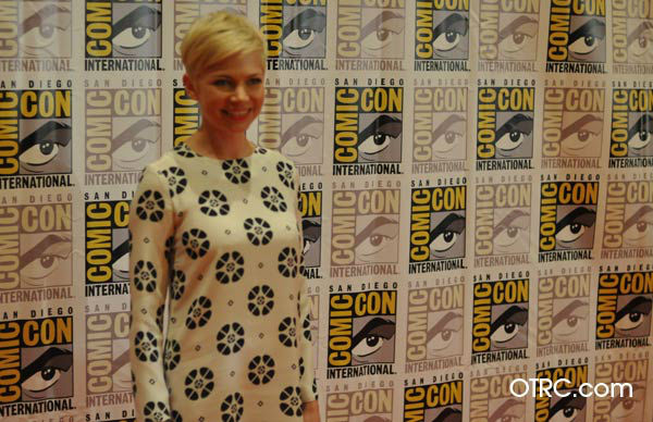 "<div class=""meta ""><span class=""caption-text "">Michelle Williams of 'Oz: the Great and Powerful,' appears in a photo at San Diego Comic-Con on Thursday, July 12, 2012. (OTRC Photo)</span></div>"