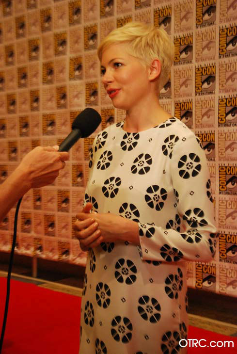Michelle Williams of 'Oz: the Great and Powerful,' appears in a photo at San Diego Comic-Con on Thursday, July 12, 2012.