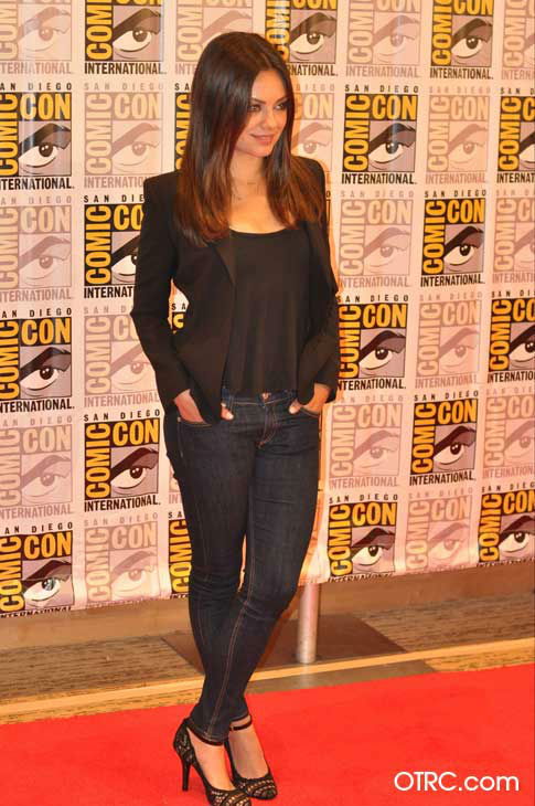 Mila Kunis of &#39;Oz: the Great and Powerful,&#39; appears in a photo at San Diego Comic-Con on Thursday, July 12, 2012. <span class=meta>(OTRC Photo)</span>
