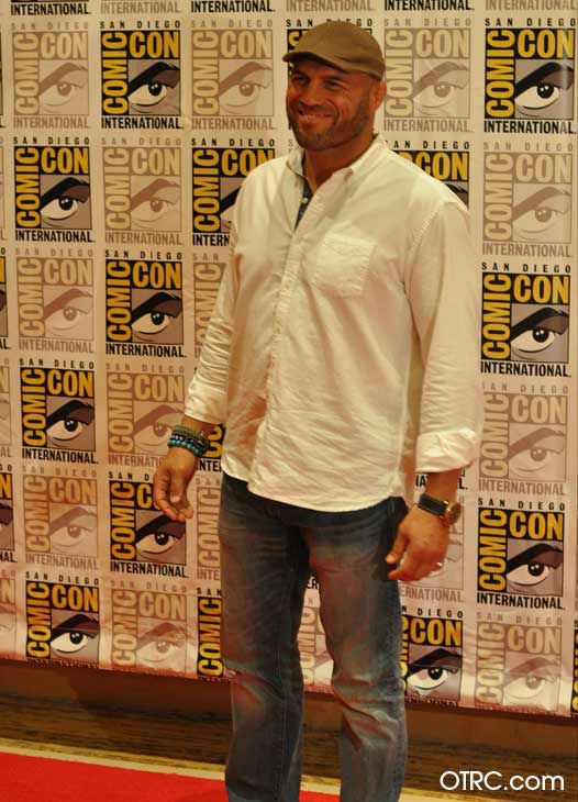 "<div class=""meta ""><span class=""caption-text "">Randy Couture of 'The Expendables 2,' appears in a photo at San Diego Comic-Con on Thursday, July 12, 2012. (OTRC Photo)</span></div>"