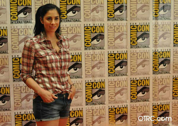 Sarah Silverman of &#39;Wreck-It Ralph&#39; appears in a photo at San Diego Comic-Con on Thursday, July 12, 2012. <span class=meta>(OTRC Photo)</span>