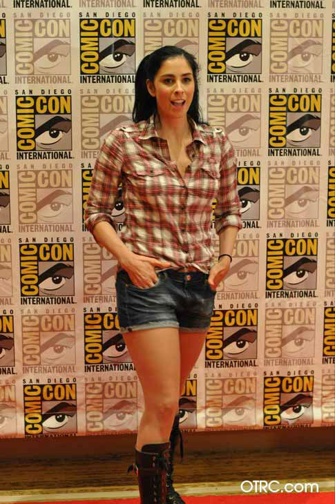 "<div class=""meta ""><span class=""caption-text "">Sarah Silverman of 'Wreck-It Ralph' appears in a photo at San Diego Comic-Con on Thursday, July 12, 2012. (OTRC Photo)</span></div>"