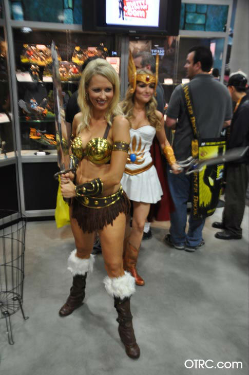 "<div class=""meta ""><span class=""caption-text "">Fans dressed in costumes appear in a photo at San Diego Comic-Con on Thursday, July 12, 2012. (OTRC Photo)</span></div>"