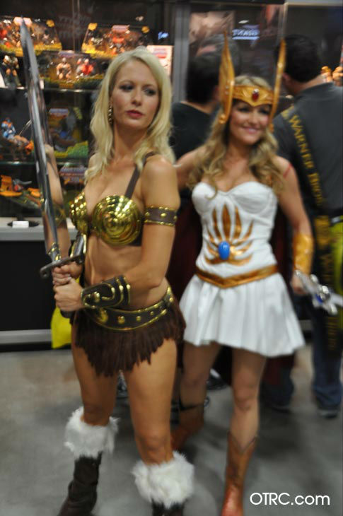 Fans dressed in costumes appear in a photo at San Diego Comic-Con on Thursday, July 12, 2012.