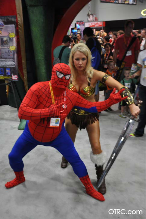 Fans dressed in costumes appear in a photo at San Diego Comic-Con on Thursday, July 12, 2012. <span class=meta>(OTRC Photo)</span>