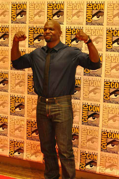 "<div class=""meta ""><span class=""caption-text "">Terry Crews of 'The Expendables 2,' appears in a photo at San Diego Comic-Con on Thursday, July 12, 2012. (OTRC Photo)</span></div>"