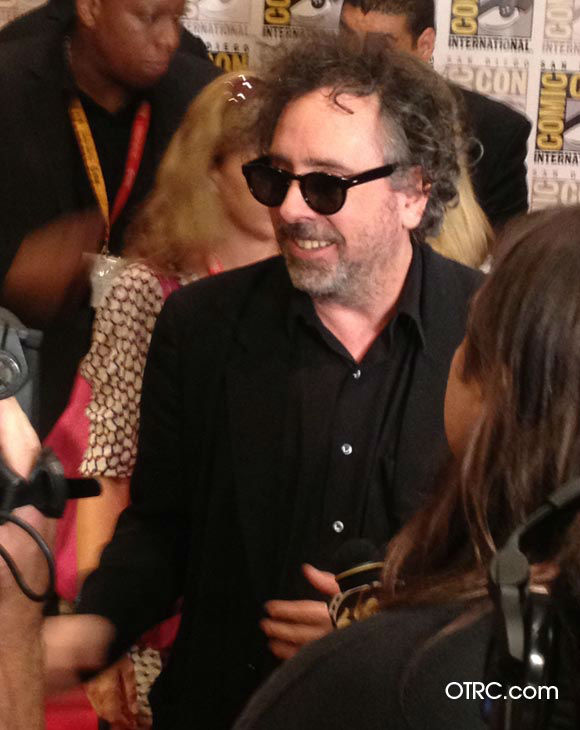 Tim Burton, who directed &#39;Frankenweenie,&#39; appears in a photo at San Diego Comic-Con on Thursday, July 12, 2012. <span class=meta>(OTRC Photo)</span>
