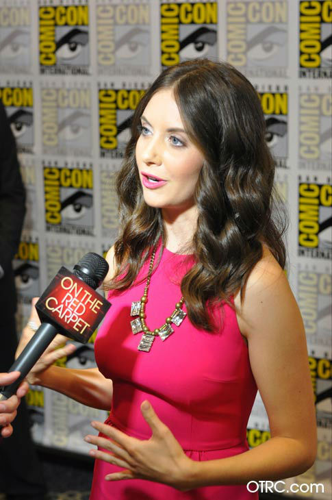 "<div class=""meta ""><span class=""caption-text "">Alison Brie of 'Community' appears in a photo at San Diego Comic-Con  on Friday, July 13, 2012. (OTRC Photo)</span></div>"