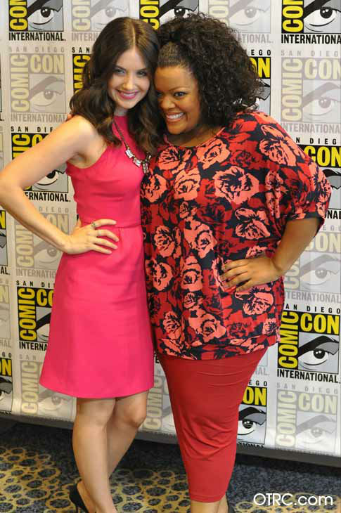 "<div class=""meta ""><span class=""caption-text "">Alison Brie and Yvette Nicole Brown of 'Community' appear in a photo  at San Diego Comic-Con on Friday, July 13, 2012. (OTRC Photo)</span></div>"