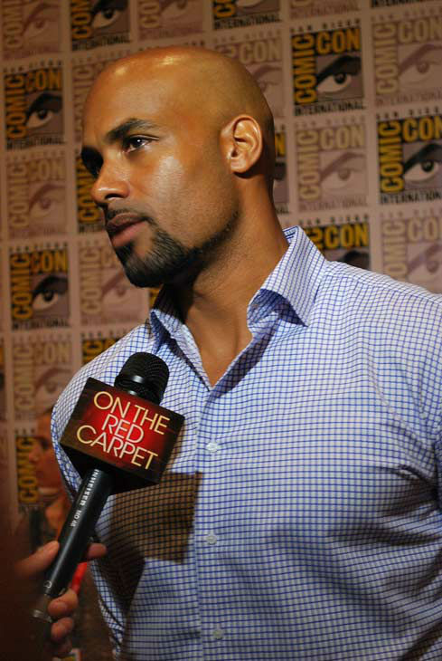 Boris Kodjoe of &#39;Resident Evil: Retribution&#39; appears in a photo at  San Diego Comic-Con on Friday, July 13, 2012. <span class=meta>(OTRC Photo)</span>
