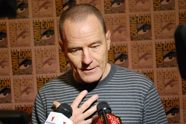 &#39;Total Recall&#39; star Bryan Cranston appears in a photo at San Diego Comic-Con on Friday, July 13, 2012. <span class=meta>(OTRC Photo)</span>