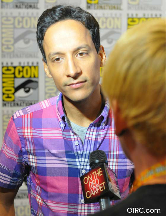 Danny Pudi of &#39;Community&#39; appears in a photo at San Diego Comic-Con on  Friday, July 13, 2012. <span class=meta>(OTRC Photo)</span>