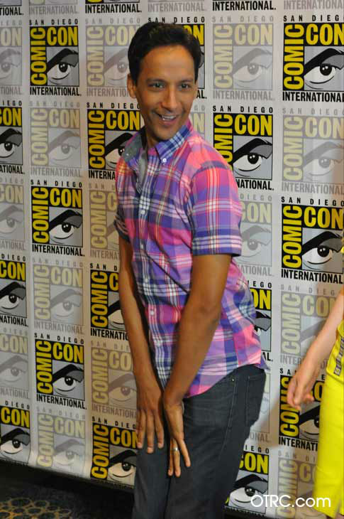 "<div class=""meta ""><span class=""caption-text "">Danny Pudi of 'Community' appears in a photo at San Diego Comic-Con on  Friday, July 13, 2012. (OTRC Photo)</span></div>"
