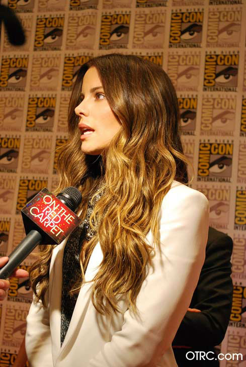 "<div class=""meta image-caption""><div class=""origin-logo origin-image ""><span></span></div><span class=""caption-text"">'Total Recall' star Kate Beckinsale appears in a photo at San Diego Comic-Con on Friday, July 13, 2012. (OTRC Photo)</span></div>"