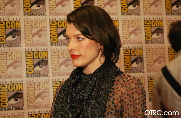 Milla Jovovitch of &#39;Resident Evil: Retribution&#39; appears in a photo at  San Diego Comic-Con on Friday, July 13, 2012. <span class=meta>(OTRC Photo)</span>