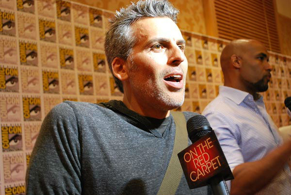 Oded Fehr of &#39;Resident Evil: Retribution&#39; appears in a photo at  San Diego Comic-Con on Friday, July 13, 2012. <span class=meta>(OTRC Photo)</span>
