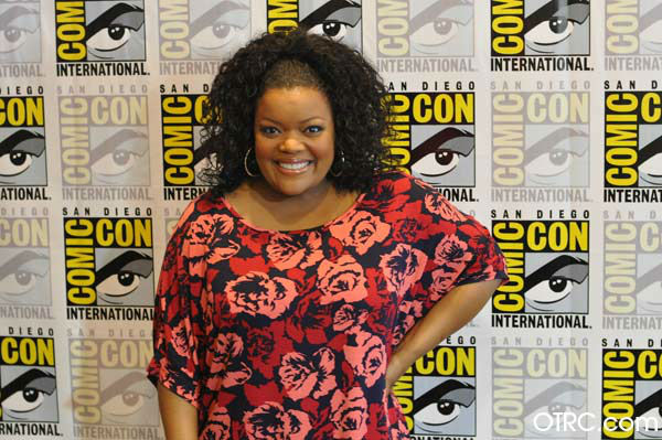 Yvette Nicole Brown of &#39;Community&#39; appears in a photo at San Diego  Comic-Con on Friday, July 13, 2012. <span class=meta>(OTRC Photo)</span>