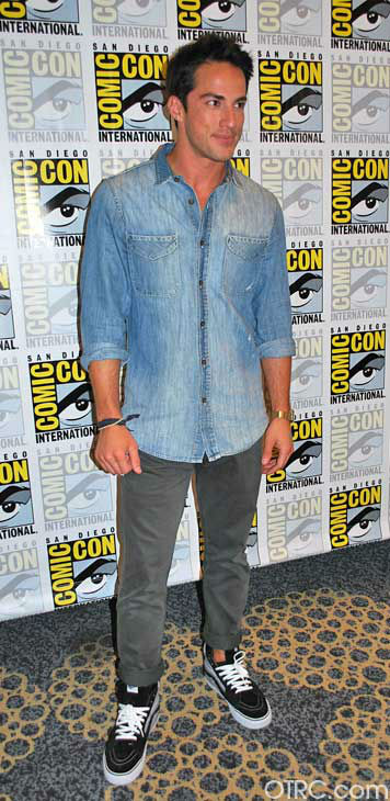 Michael Trevino of &#39;The Vampire Diaries&#39; appears in a photo at San Diego Comic-Con on Saturday, July 14, 2012. <span class=meta>(OTRC Photo)</span>