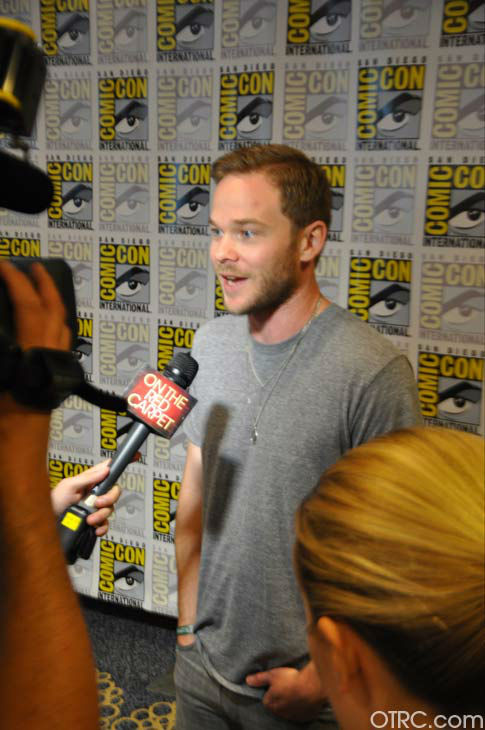 Shawn Ashmore of &#39;The Following&#39; appears in a photo at San Diego Comic-Con on Saturday, July 14, 2012. <span class=meta>(OTRC Photo)</span>