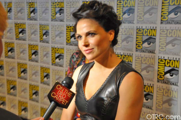 "<div class=""meta ""><span class=""caption-text "">Lana Parrilla of 'Once Upon A Time' appears in a photo at San Diego Comic-Con on Friday, July 14, 2012. (OTRC Photo)</span></div>"