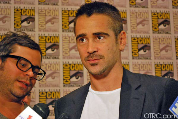 &#39;Total Recall&#39; star Colin Farrell appears in a photo at San Diego Comic-Con on Friday, July 13, 2012. <span class=meta>(OTRC Photo)</span>