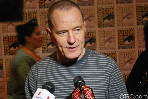 Bryan Cranston of &#39;Breaking Bad&#39; and &#39;Total Recall&#39;appears in a photo at San Diego Comic-Con on Friday, July 13, 2012. <span class=meta>(OTRC Photo)</span>