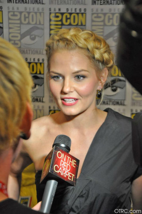 Jennifer Morrison of 'Once Upon A Time' appears in a photo at San Diego Comic-Con on Saturday, July 14, 2012.