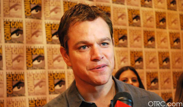 &#39;Elysium&#39; star Matt Damon appears in a photo at San Diego Comic-Con on Friday, July 13, 2012. <span class=meta>(OTRC Photo)</span>