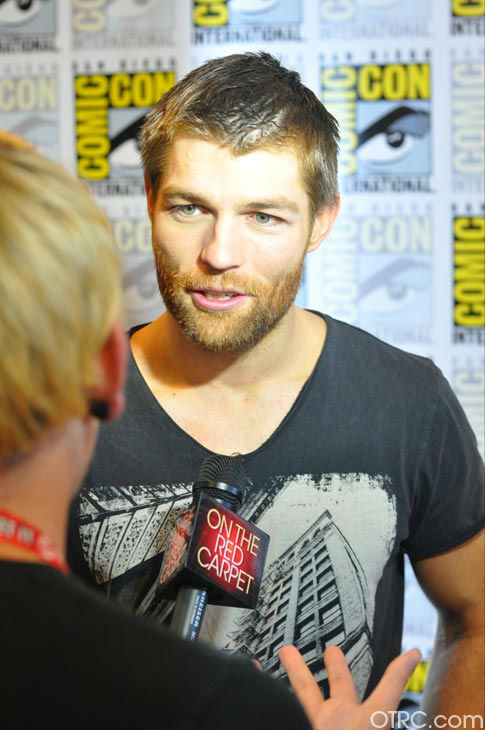 "<div class=""meta ""><span class=""caption-text "">Liam McIntyre of 'Spartacus: Vengeance'appears in a photo at San Diego Comic-Con on Friday, July 13, 2012.  (OTRC Photo)</span></div>"